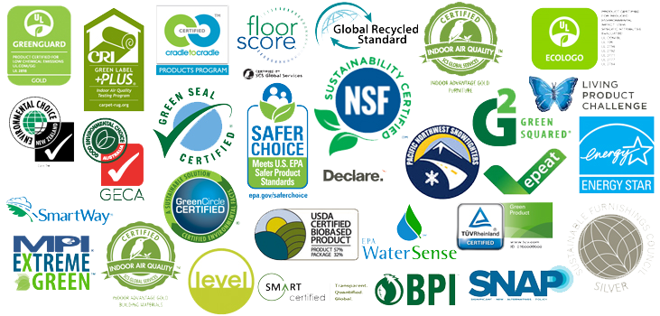 Look for these EPA Logos